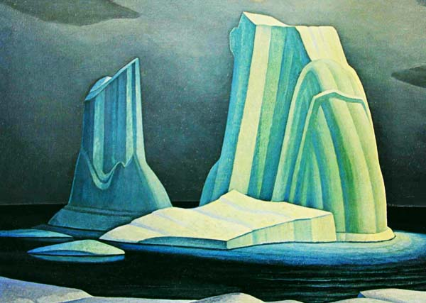 lawren harris the canadian artist The manifold strengths in canadian painter lawren harris's art are best perceived in person: a point made by an important new mfa show.
